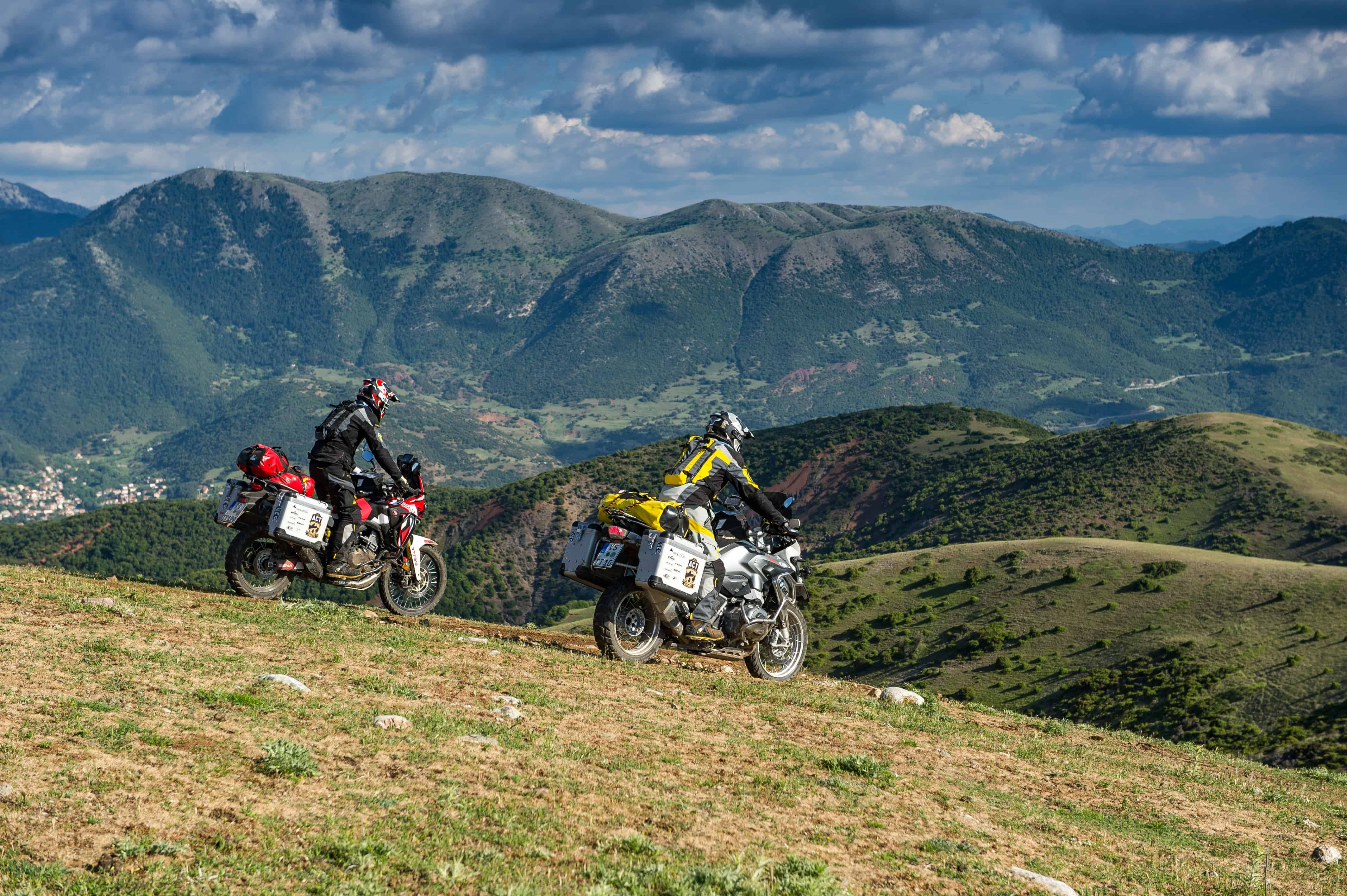 Motorrad Reisen
