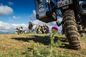 Motorrad Event in Griechenland