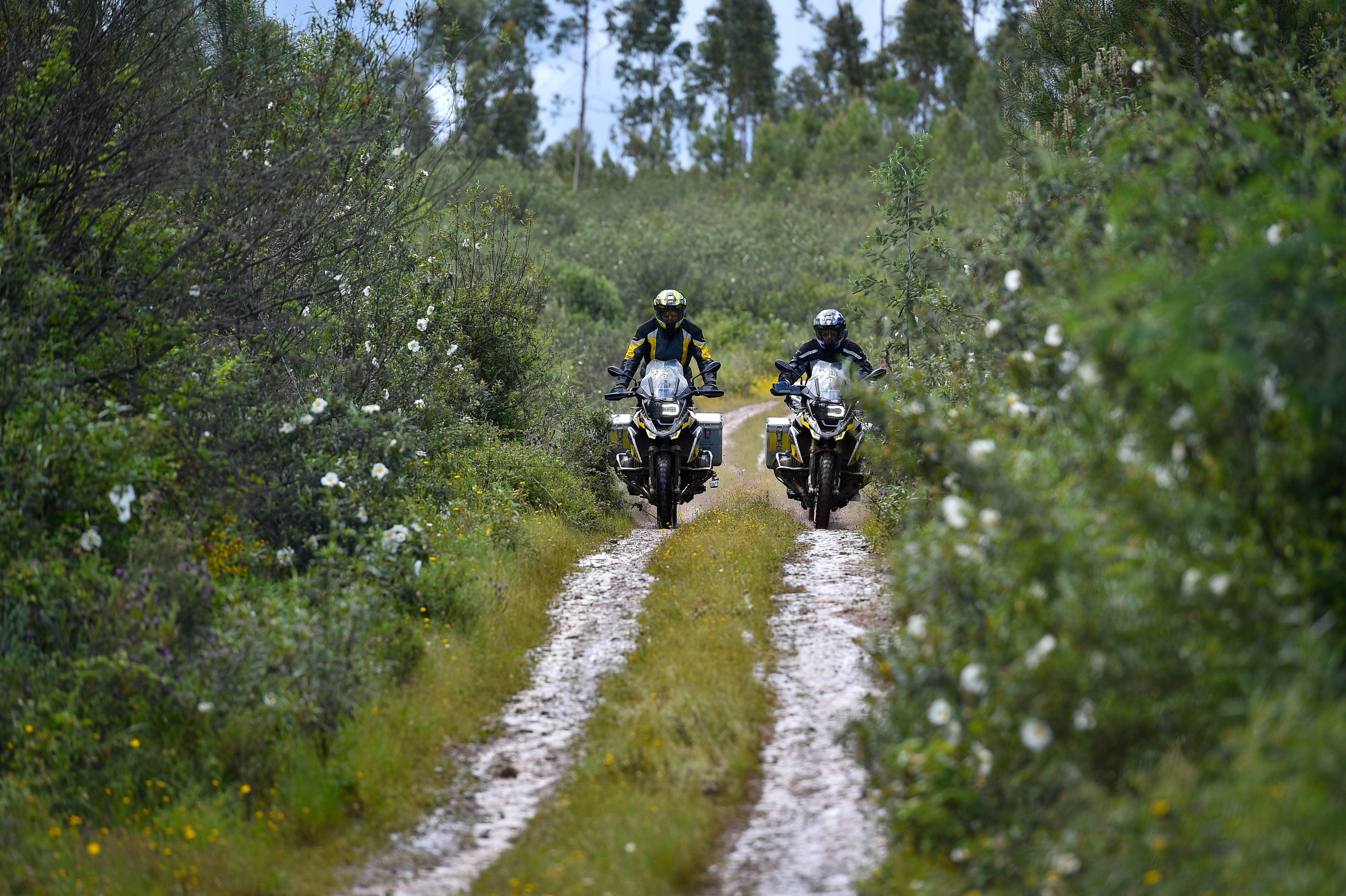 Offroad mit dem Motorrad