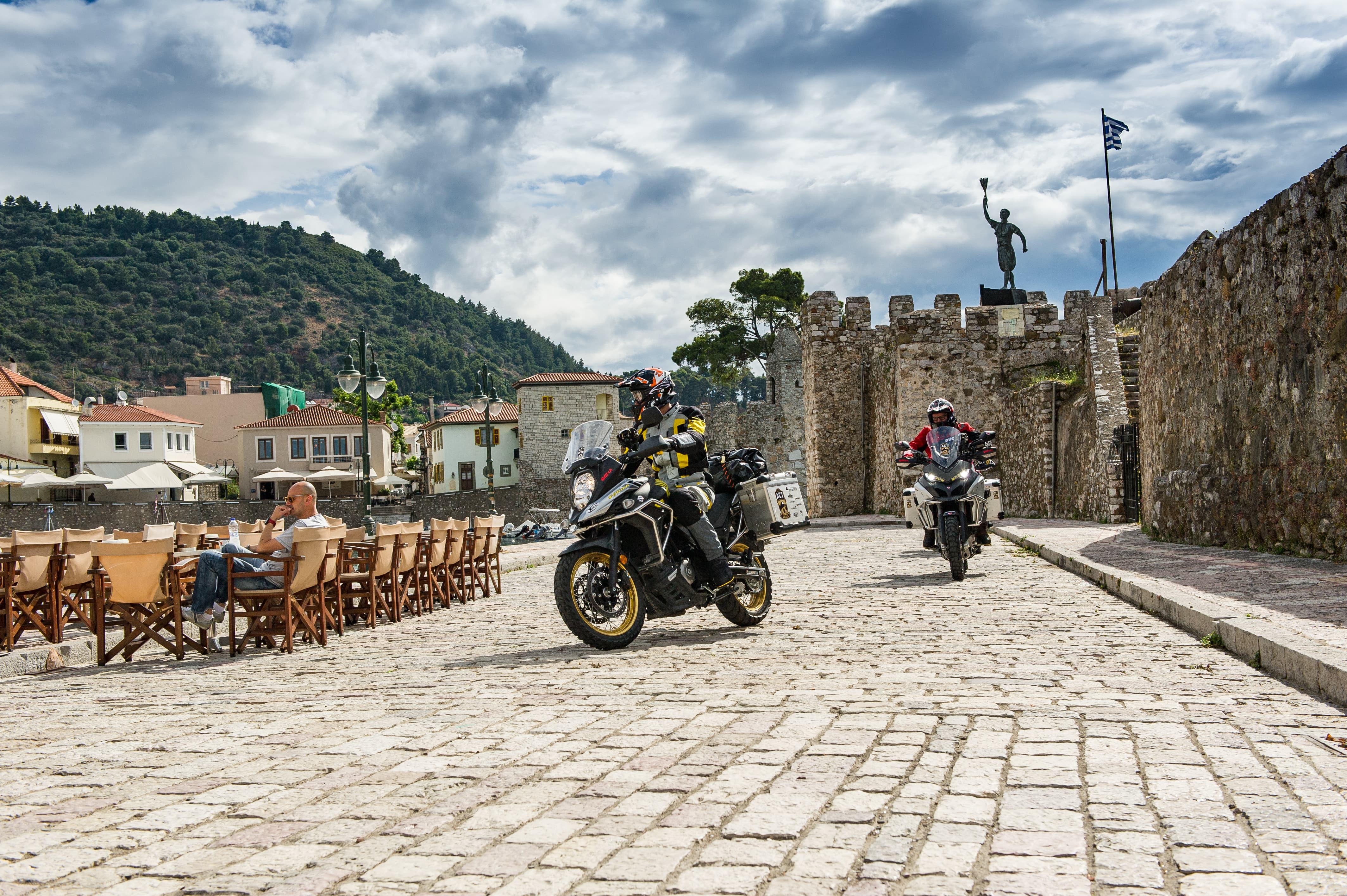 Motorrad Reisen Griechenland